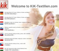 KiK – Moda & sklepy odzieżowe w Niemczech, Linden