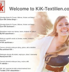 KiK – Moda & sklepy odzieżowe w Niemczech, Weilburg