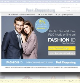Peek & Cloppenburg – Moda & sklepy odzieżowe w Niemczech, Augsburg