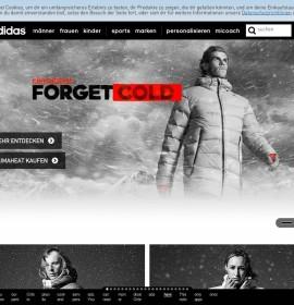 adidas – Moda & sklepy odzieżowe w Niemczech, Piding