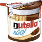 niemieckie słodycze Nutella & Go