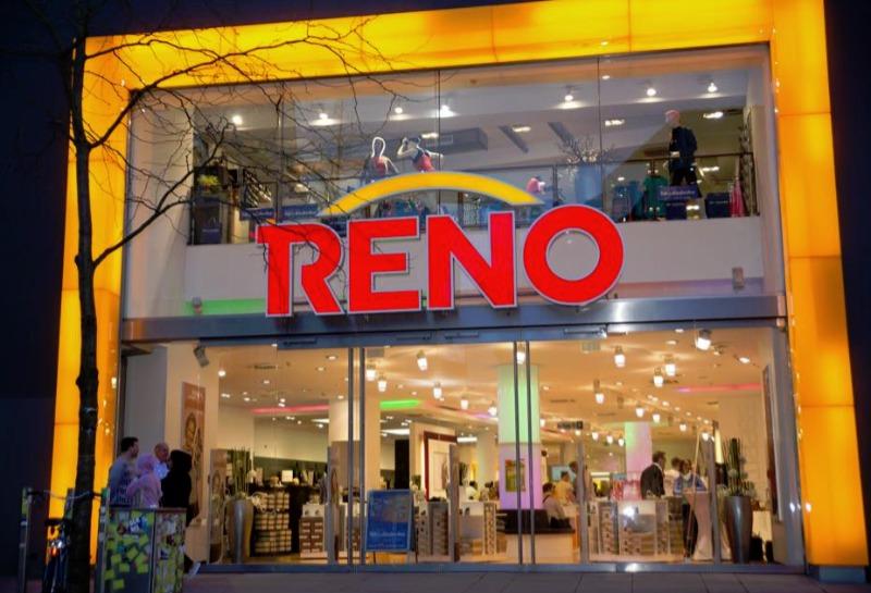 Reno - sklep obuwniczy w Niemczech